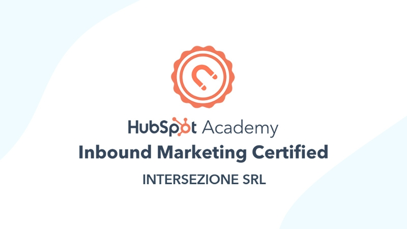 intersezione hubspot inbound marketing