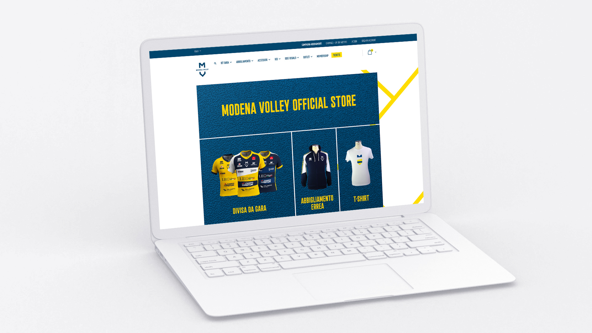 modena volley ecommerce