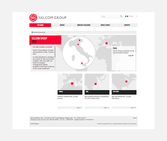 selcom visual web sedi